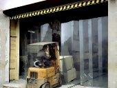 Perdele şi uşi din PVC industriale