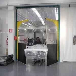 Perdele PVC industriale